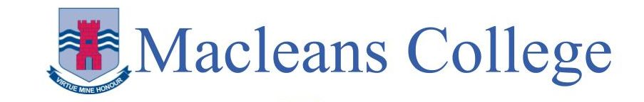 Logo for Macleans College