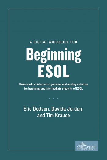 Cover image for Beginning ESOL